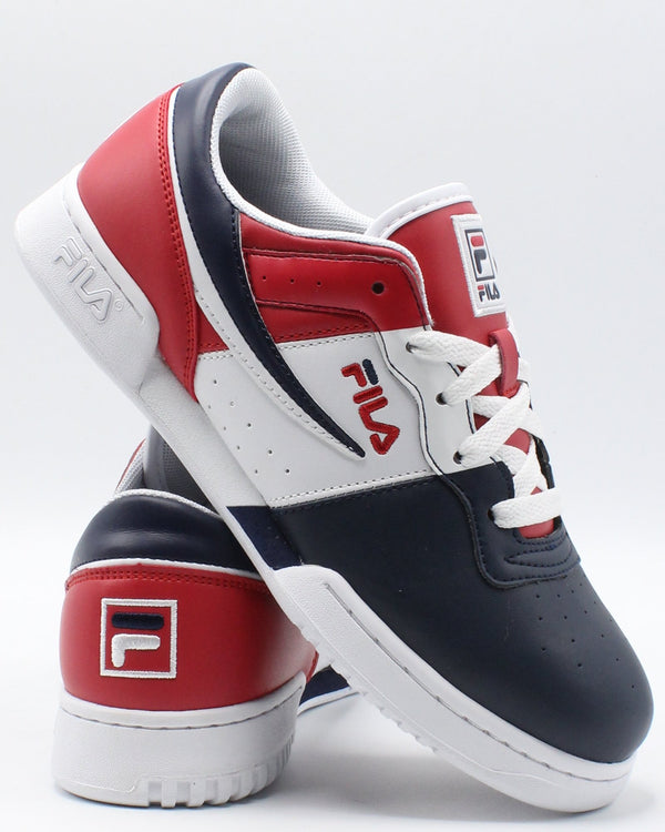 FILA-Original Fitness Sneaker (Grade School) - Navy White Red-VIM.COM