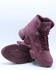 Mens Rocky Casual Boot - Burgundy