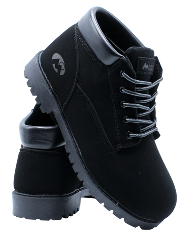 Chukka Boot (Grade School) - Black-VIM.COM