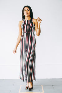 Jewel Stripe Dress
