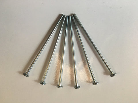 M6 x 140mm Pozi Pan Bolt