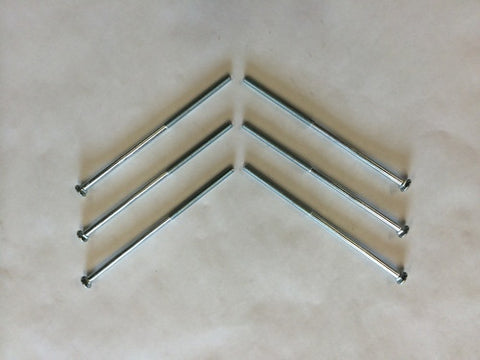 "10 UNF x 4.750"" Carriage Head Case Bolt"
