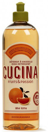 CUCINA Dish Detergents - 16.9 fl. oz. - Sanguinelli Orange Fennel