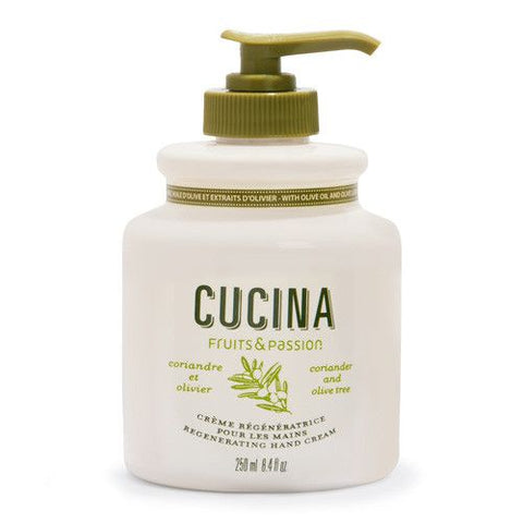 CUCINA Regenerating Hand Creams -  Coriander and Olive