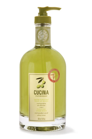 CUCINA Purifying Hand Washes - 16.9 fl. oz. - Coriander and Olive Tree