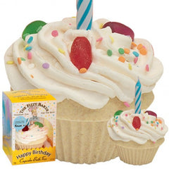 The Fizzy Baker Birthday Bath Cupcake