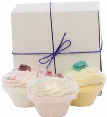 Fizzy Baker Cupcake Trio Gift Box (includes three items)
