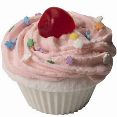 The Fizzy Baker Cherry Cupcake Bath Bomb