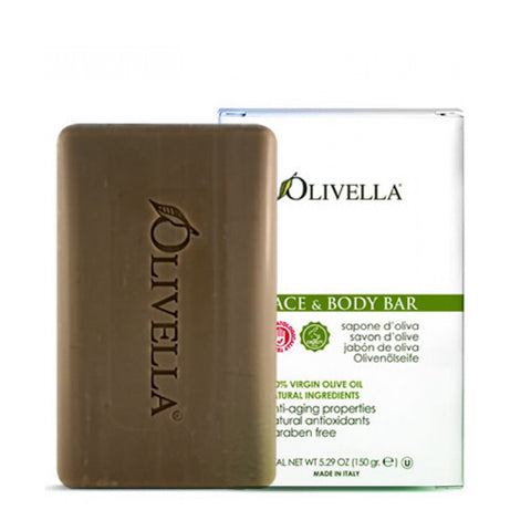 Olivella 100% Virgin Olive Oil Face & Body Soap - 5.29 oz.