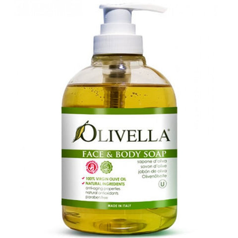 Olivella Virgin Olive Oil Liquid Face & Body Soap - 10.14 fl. oz.