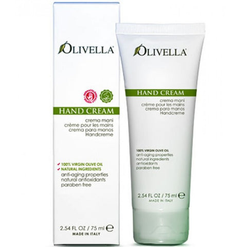 Olivella Virgin Olive Oil Hand Cream - 2.54 fl. oz.