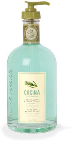 CUCINA Purifying Hand Washes- 16.9 fl. oz- Rosemary and Cardamom