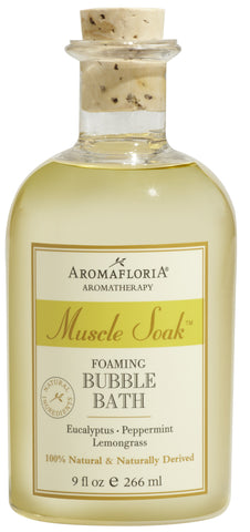 Aromafloria Muscle Soak Bubble Bath - 9 fl. oz.