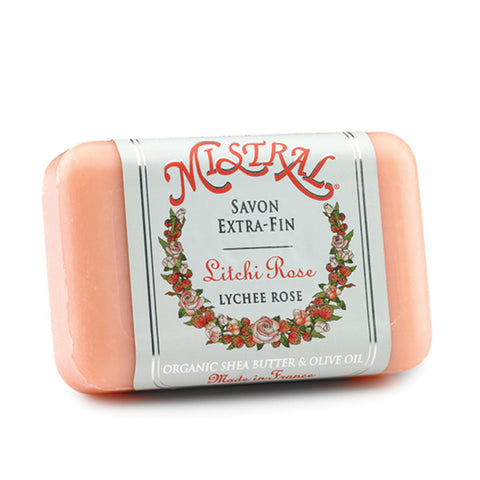 Mistral Shea Butter Soaps - 7 oz. - Lychee Rose