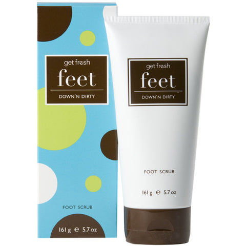 get fresh Down n' Dirty Lemongrass Foot Scrub - 5.7 oz.