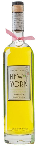 get fresh Memories of New York Lemongrass Bubble Bath - 25 fl. oz.