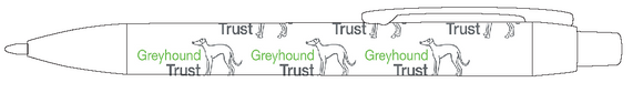 White Greyhound Trust Pen