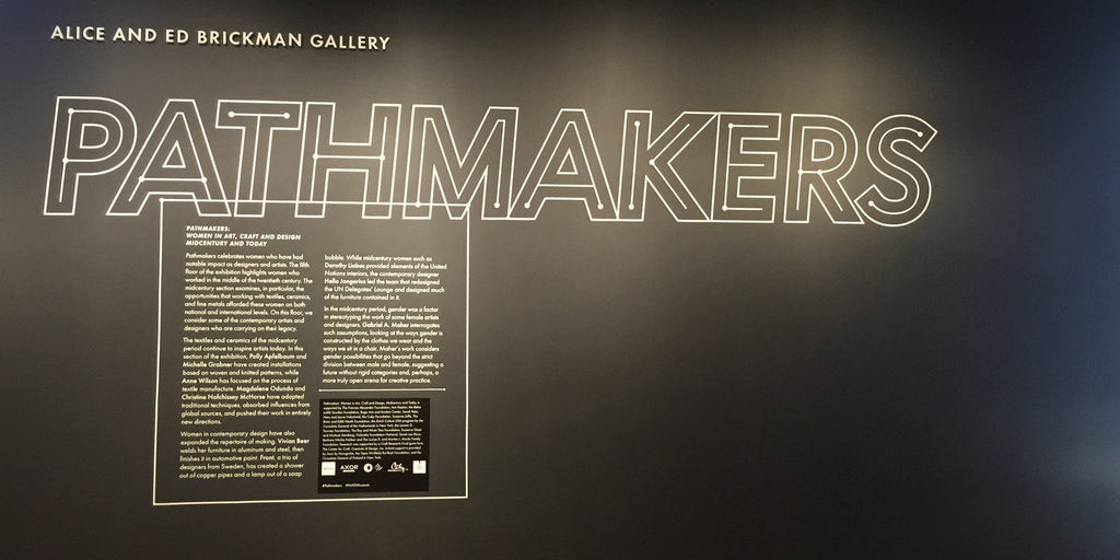 Pathmakers exhibition @ MAD Museum NYC