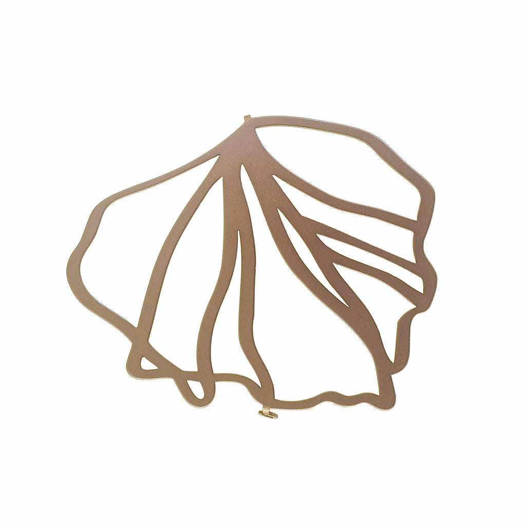 Frond Brooch - 22ct Rose Gold Plate BROOCH
