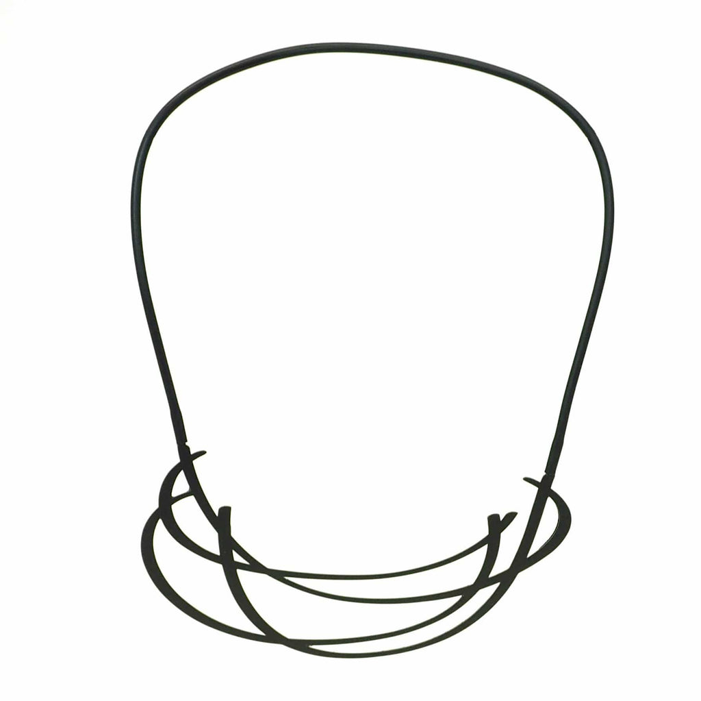 Huddle Necklace - Black NECKLACE