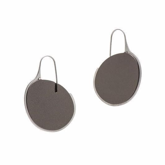 Pebble Earrings Small Frame - Mauve EARRINGS