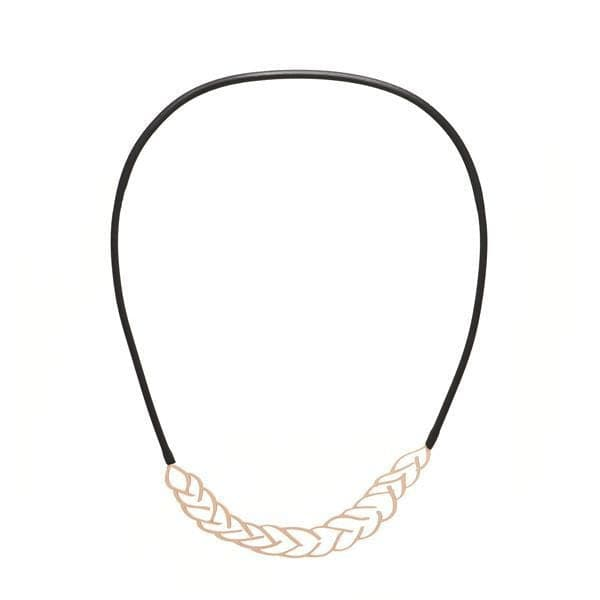 Platt Necklace - Black NECKLACE