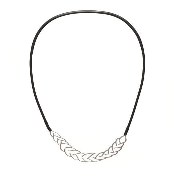 Platt Necklace - Raw Stainless Steel NECKLACE