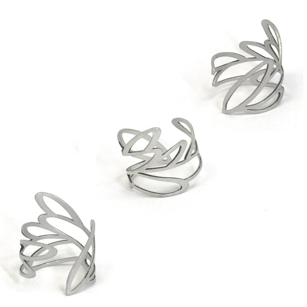 Reed Ring - Raw Stainless Steel RINGS