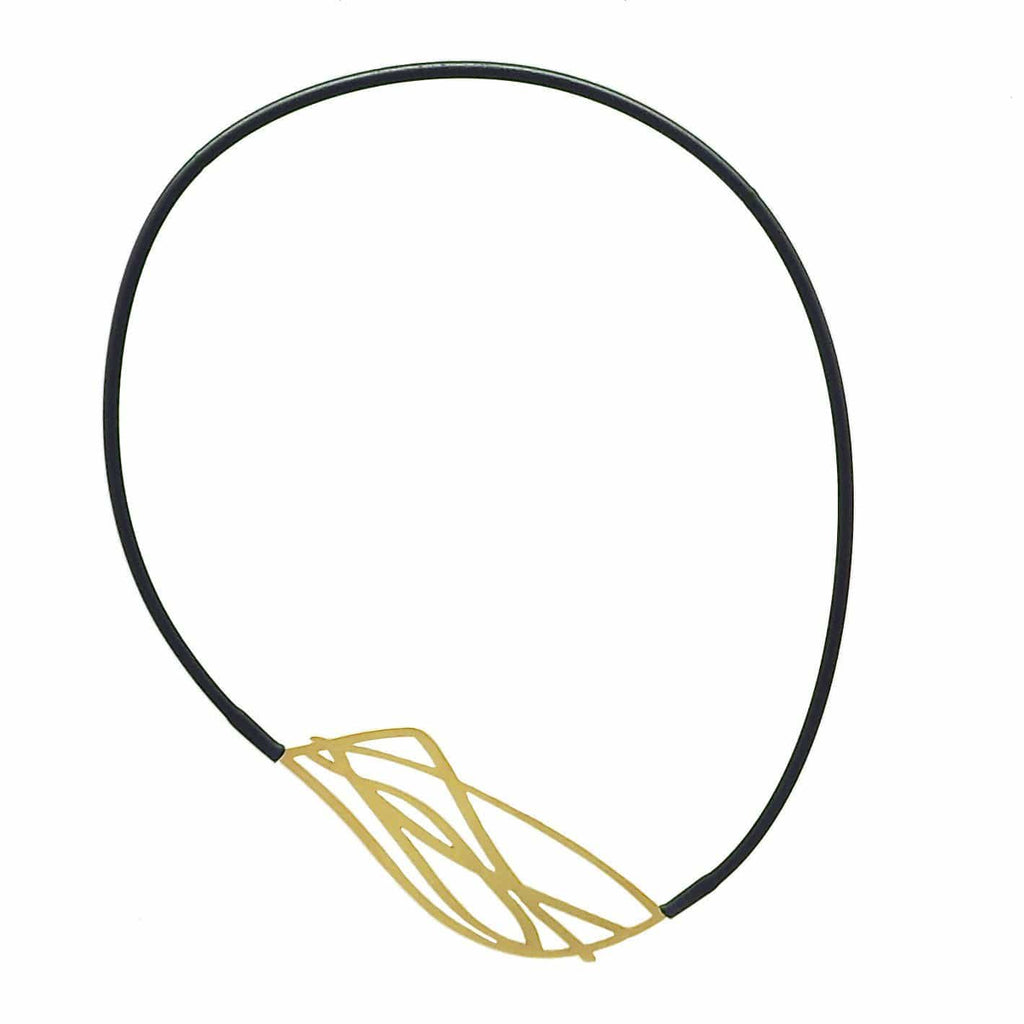 Twigs Necklace - 22CT Rose Gold Plate NECKLACE