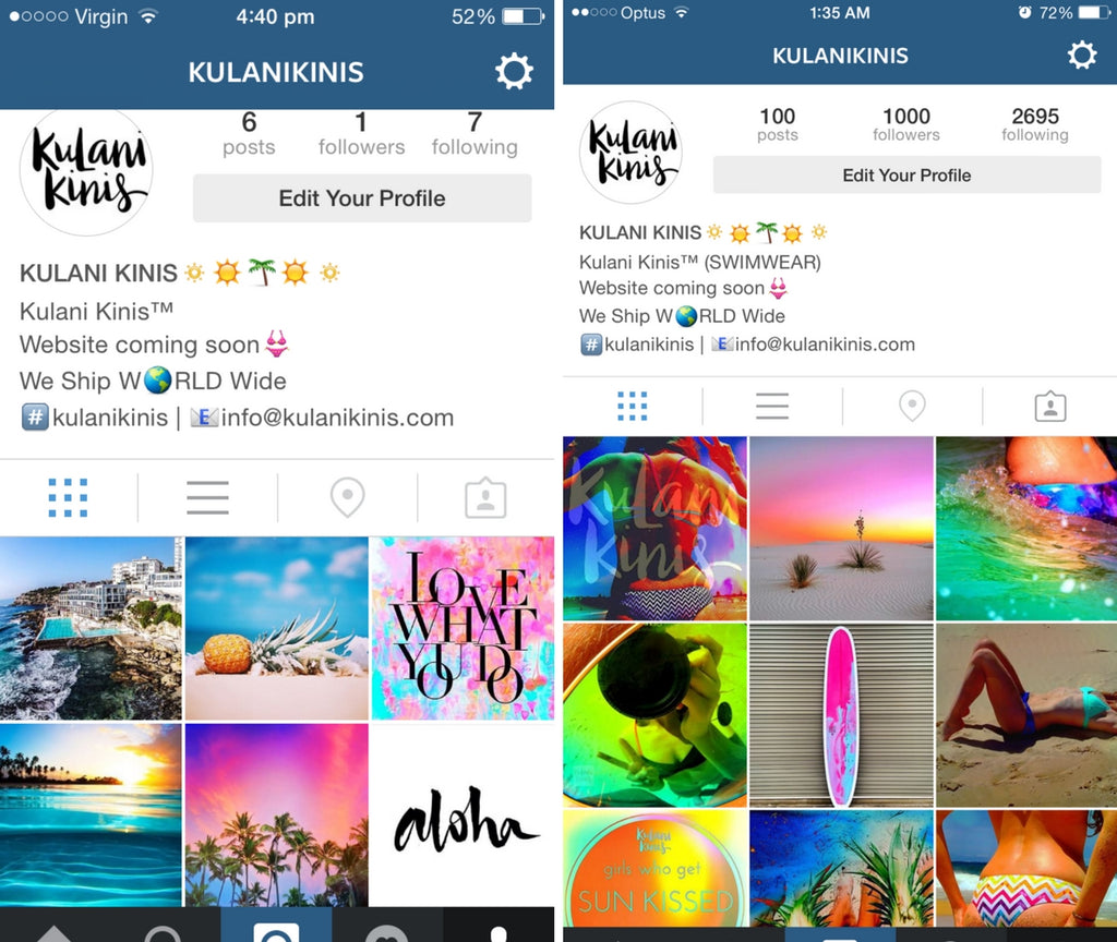 Kulani Kinis How To Grow Your Instagram