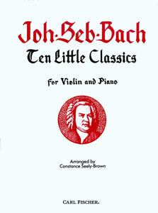 Bach-Ten-Little-Classics-Violin-Music