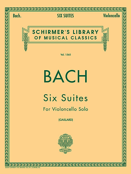 Bach-Six-Suites-Cello-Solo-Schirmer