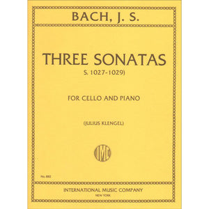 Bach-Three-Sonatas-S-1027-1028-1029-Cello-Music-International