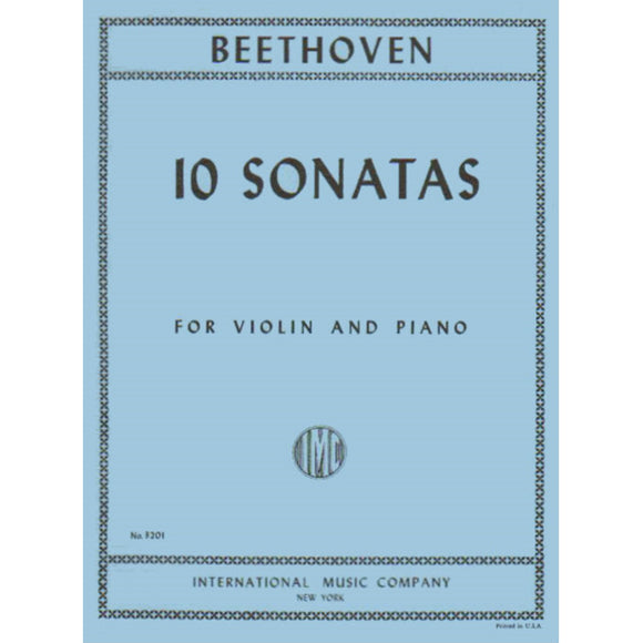 Beethoven-10-Sonatas-Violin-Music