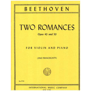 Beethoven-Two-Romances-Violin-Music