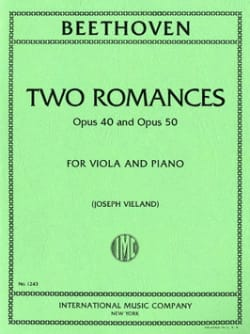 Beethoven-Two-Romances-Op.40-and-Op.50-for-Viola-and-Piano