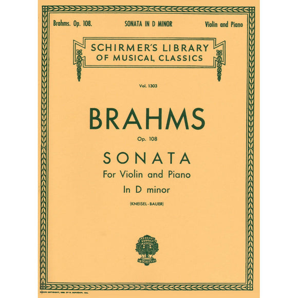 Brahms-Sonata-D-Minor-Violin-Music-Schirmer