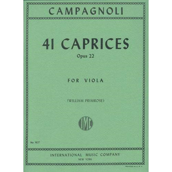 Campagnoli-41-Caprices-Op.22-for-Viola