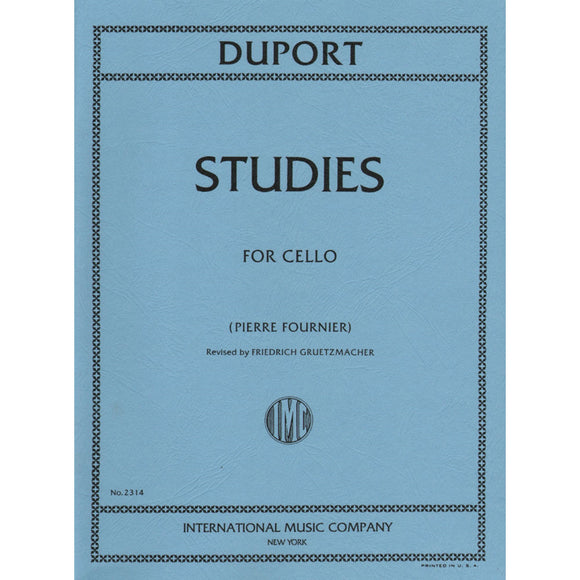Duport-Studies-for-Cello