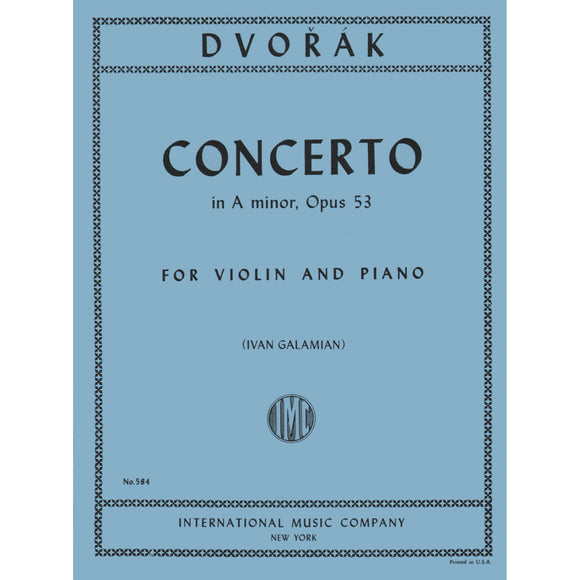 Dvorak-Concerto-A-Minor-Violin-Music-International