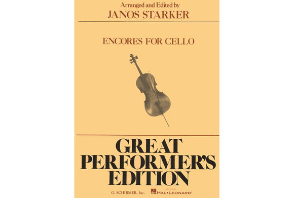 Starker-Encores-for-Cello-Music