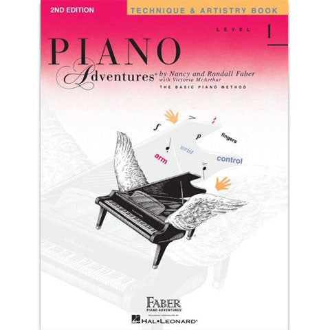 Faber Piano Adventures Technique & Artistry Book - Level 1