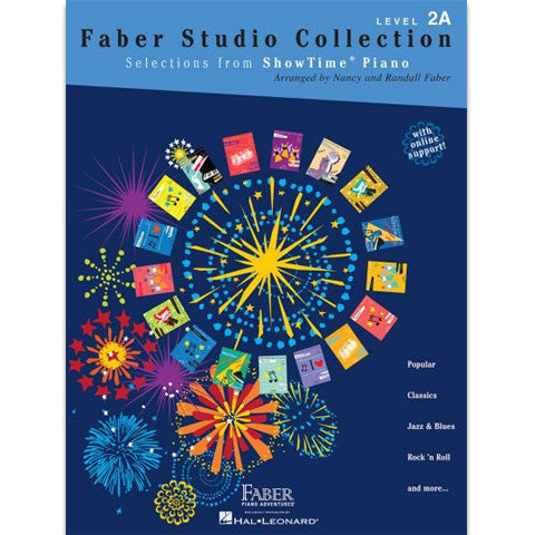 Faber-ShowTime-Piano-Level-2A-Studio-Collection