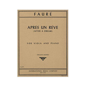 Faure-Apres-Un-Reve-(Afer-a-Dream)-for-Viola-and-Piano