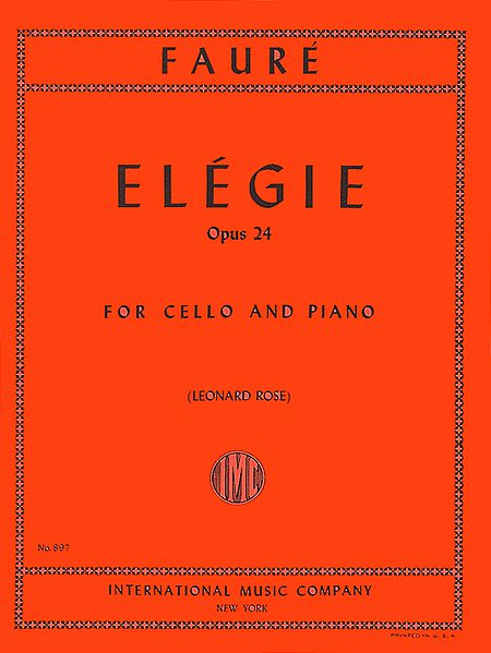 Faure-Elegie-Cello-Music-International