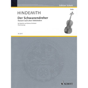 Hindemith-Der-Schwanendreher-for-Viola-and-Piano
