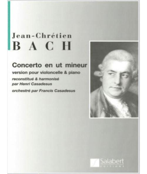 Jean-Chretien Bach Concerto en ut mineur for Viola and Piano