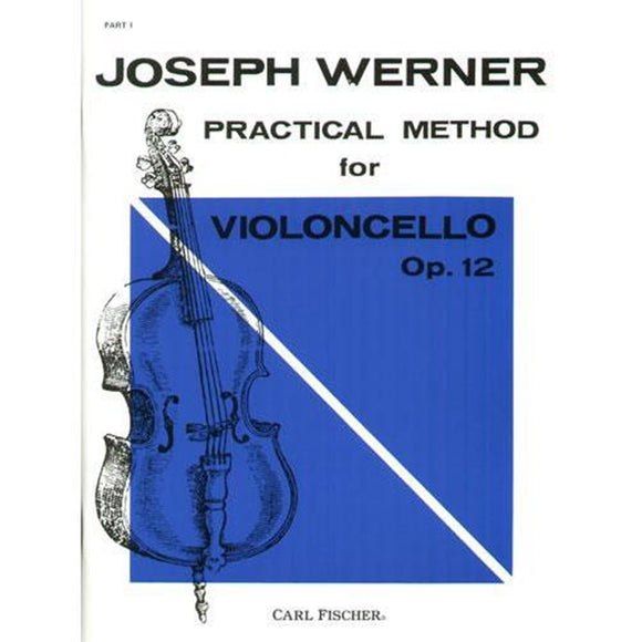 Joseph-Werner-Practical-Method-for-Violoncello-Op.12-Part-1