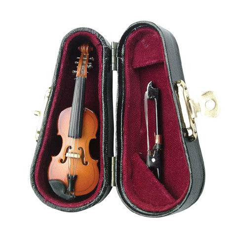 Miniature Violin with Case