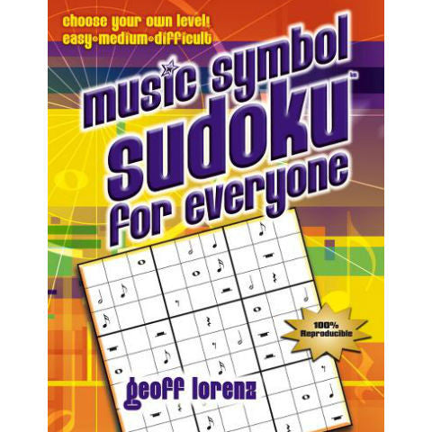 Music Symbol Sudoku for Everyone